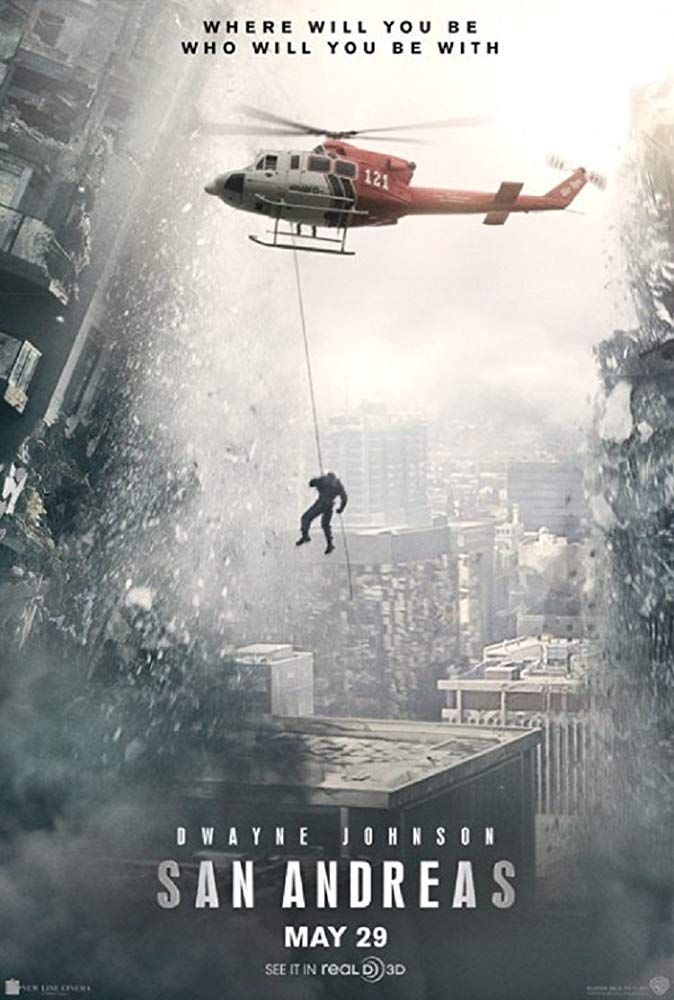 San Andreas San Andreas Movie San Andreas Movie Posters
