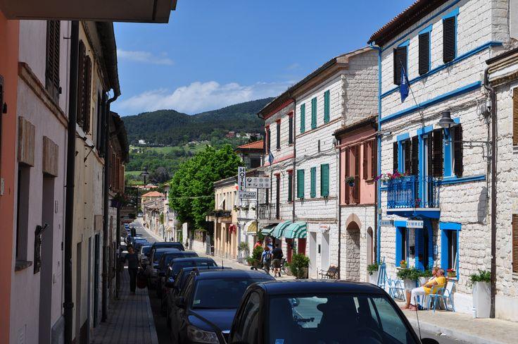 Sirolo an der Adria: Ausflug vom Casa Valrea Ferienhaus aus. Lust auf schöne Ferienwohnungen? www.casavalrea.de