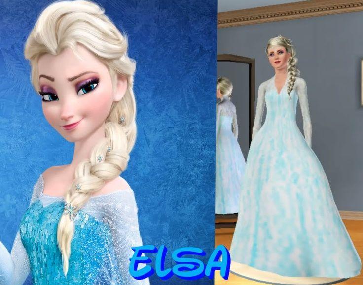 Create-A-Sim: Elsa From Frozen