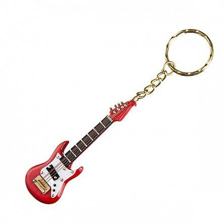 Breloczek z miniaturką gitary