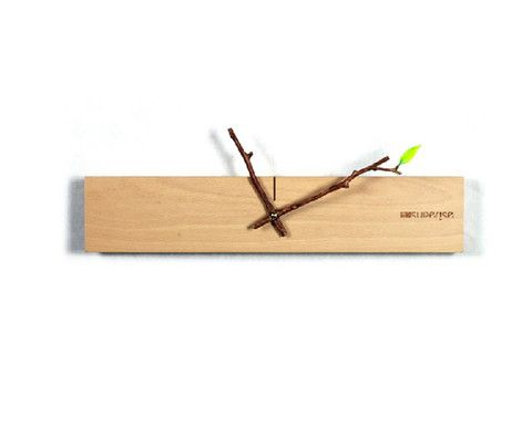Unique Minimalist Wood Wall Clock | Modern Home Decor Gift Ideas