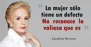 18  frases de Carolina Herrera que toda mujer debe leer para sentirse bella, ?nica e importante