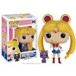 Funko Pop Sailor Moon With Moon Stick & Luna special version (All my collection: https://www.facebook.com/prettygoodiessailormoon )