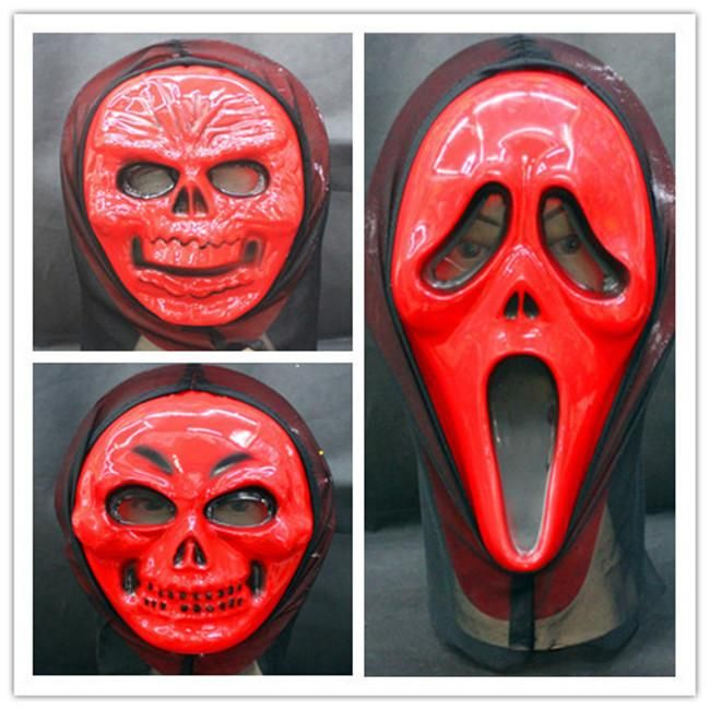 Best Quality Classic Halloween Masquerade Masks Skull Face Masks Scary Horrible Red Devil Ghost Horrible Prank Masks Costume Masks For Adults & Kids Hm17 At Cheap Price, Online Party Masks | Dhgate.Com
