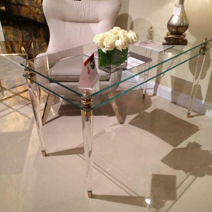 Caracole *See Write Thru You* Desk. A Sophisticated Writing Table With An  Expansive