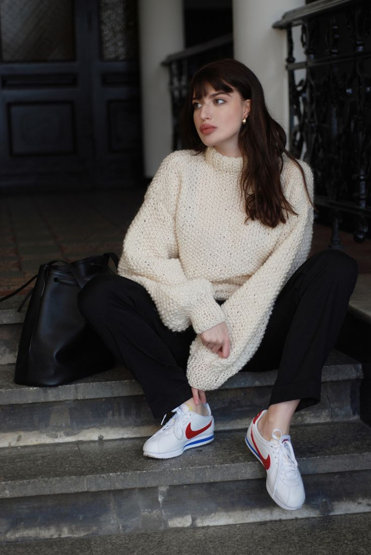 84 Best Images About Office How To Wear Nike Cortez On Pinterest Ootd Nike Cortez And Nike