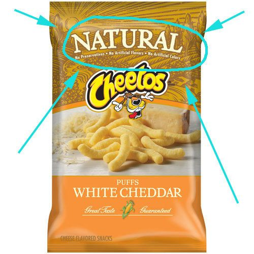 """Natural Cheetos 