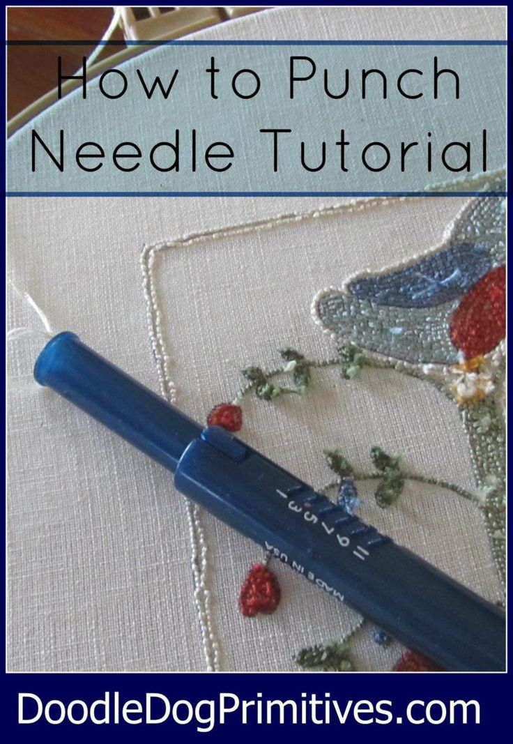 How to Punch Needle