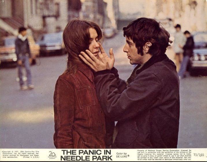 PANIC IN NEEDLE PARK - 1971 - 1 Original 8x10 Mini Lobby Card - AL PACINO