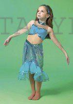 Mermaid Costume Child Sm-Md