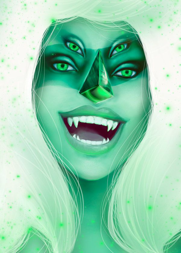 Malachite ~Steven Universe by JenelleArt on DeviantArt
