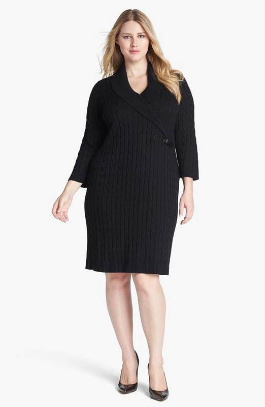 15 Plus Size Sweater Dresses to Keep You Fashionably Warm 15