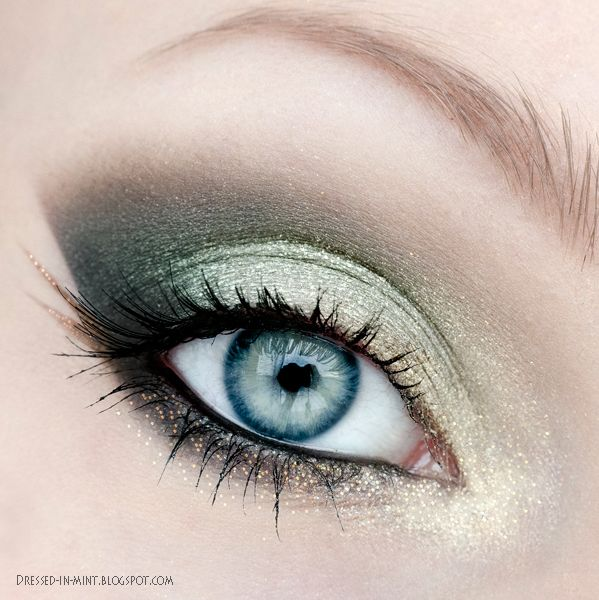 Shades of Green - Dressed in Mint make up