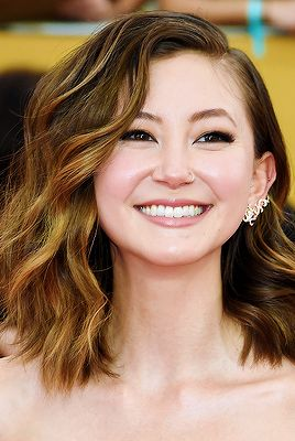 Kimiko Glenn at the 21st Annual Screen Actors Guild Awards.