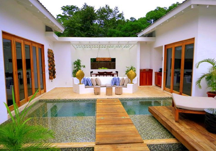Does this Two Bedroom Private Pool Villa in Belize blow your mind, too???