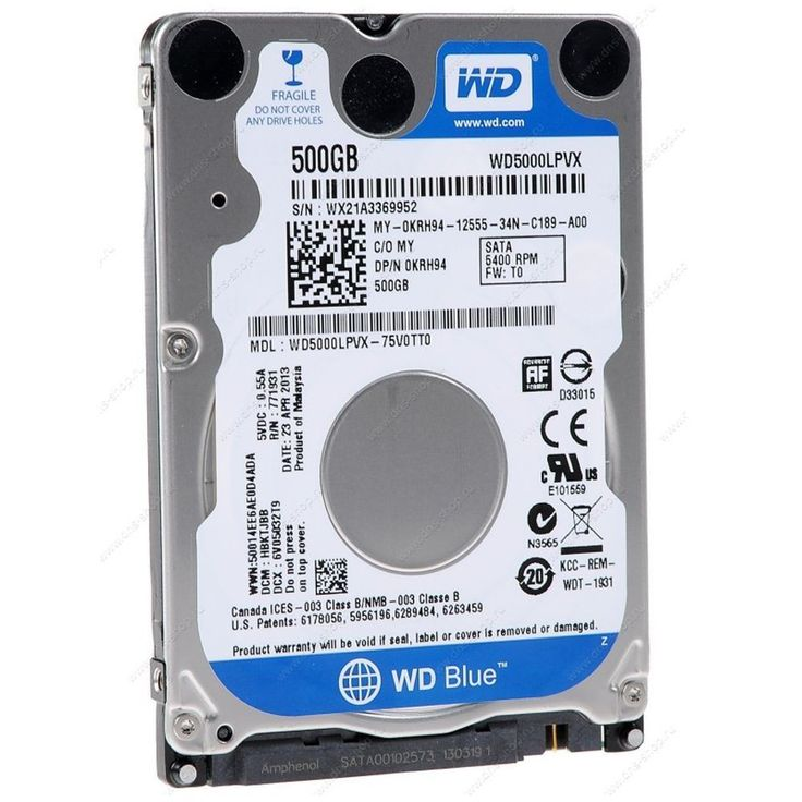 We offer original #westernDigital Scorpio #Blue 500gb #HardDrive to boost performance & storage of your PC. Maximum data speed can access movies, games, files & applications faster.  Price: £34.99 only
