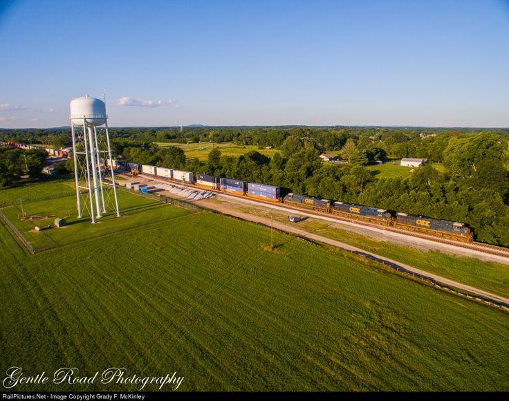 RailPictures.Net Photo: CSXT 5313 CSX Transportation (CSXT) GE ES44DC at Chapel Hill, Tennessee by Grady F. McKinley