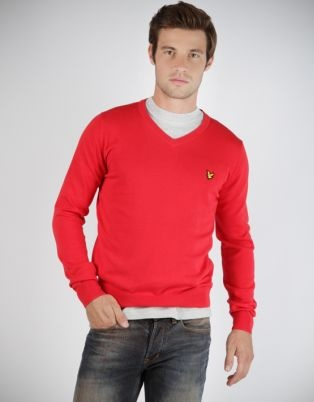 Lyle & Scott Men's Plain Pullover Top Red. Exude confidence in this classic Men's Plain Pullover Top by Lyle and Scott. Comfort meets style with this soft, lightweight top which is made from 100% cotton to give you the best, most comfortable fit. It can be worn with a pair of jeans for a relaxed look over the weekend. For a winter-inspired look, wear this top over a collared shirt with a pair of slacks for a sophisticated meeting. Get yours now from #Zando http://bit.ly/IRtgNB