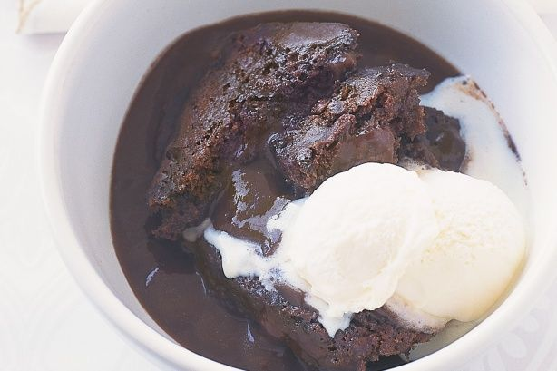Chocolate self-saucing pudding Recipe - I made this tonight and it was amazing. And so easy!! Make this for the next family dinner