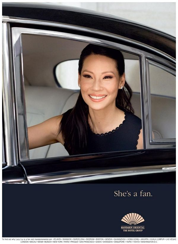 "elementarystan: "" Lucy Liu was born in New York, and has a particular fondness for Mandarin Oriental, New York's excellent location and proximity to Central Park. She also loves to have the 'delicious..."