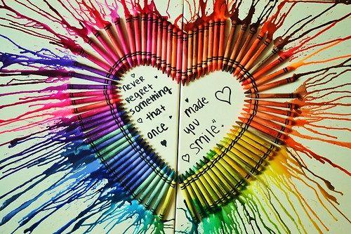 Artsy Fartsy Annie: DIY: Melted Crayon Art