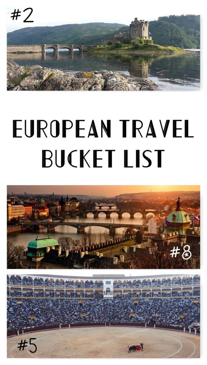European Travel Bucket List