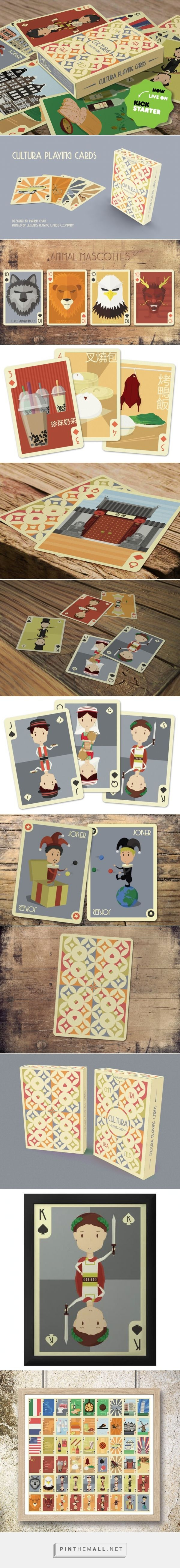 Cultura Playing Cards (Relaunched) by Mankin Chan