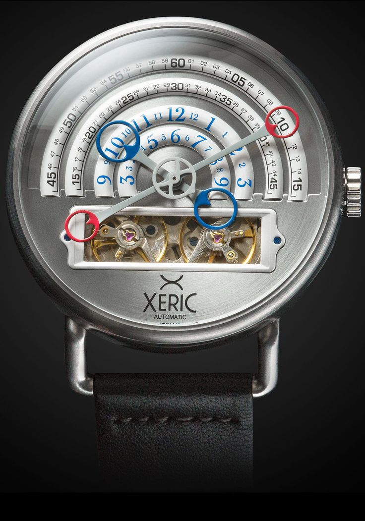 Xeric Watches - Halograph Automatic Silver, $500.00 (http://www.xericwatches.com/halograph-automatic-silver/)