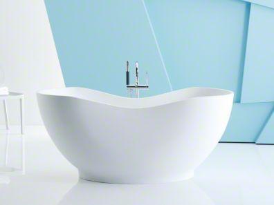 Freestanding Bath Kohler Abrazo In Honed White 7 280 Lithoc