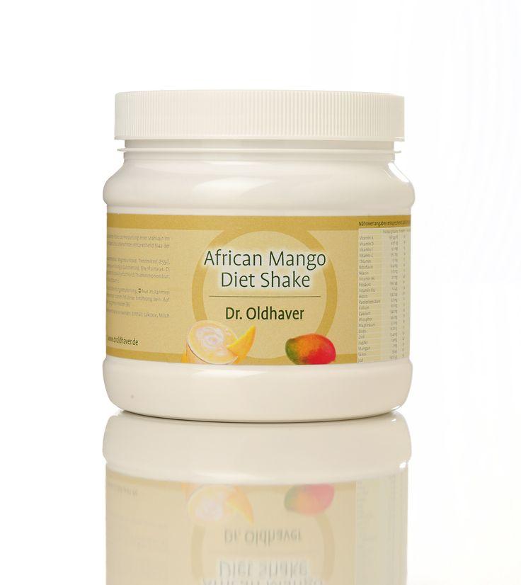 African Mango Diet Shake - der leckere Mahlzeitenersatz von Dr. Oldhaver mit der Diätsubstanz des 21. Jahrhunderts!