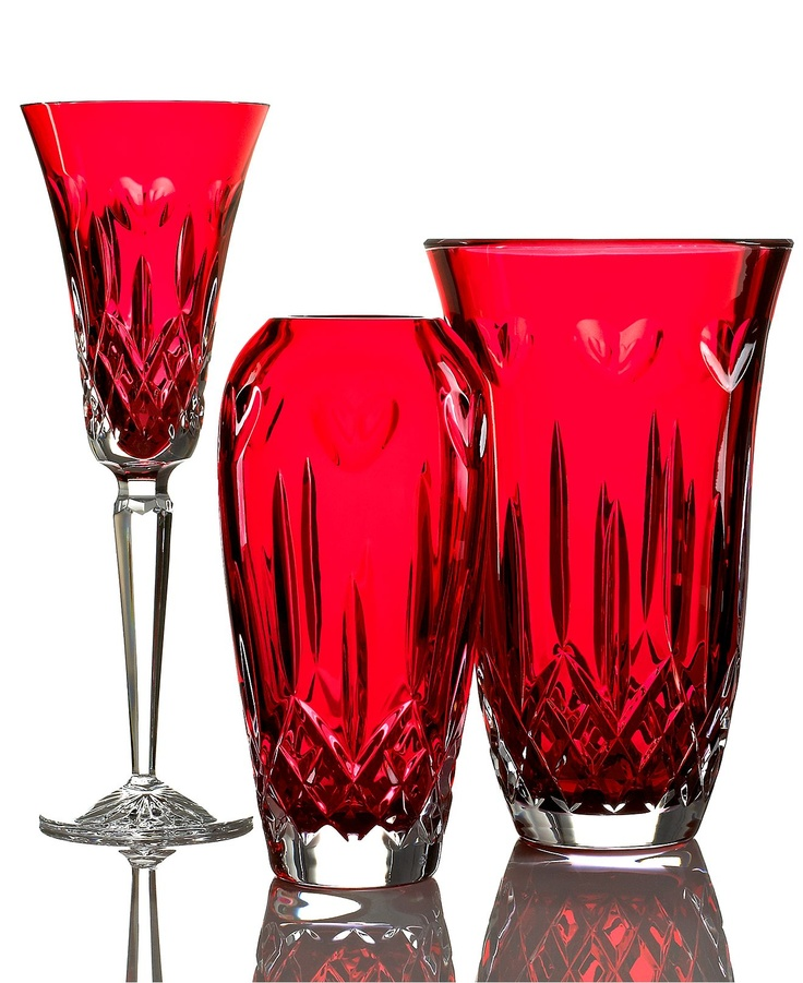Waterford Crystal Giftware, I Love Lismore Red Collection