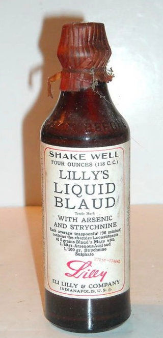They say arsenic and strychnine like they are good things. I guess what doesn't kill you will cure you!