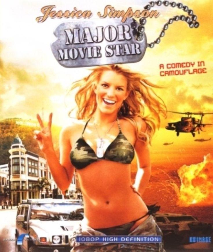 MAJOR MOVIE STAR BLU-RAY w/ JESSICA SIMPSON & STEVE GUTTENBERG