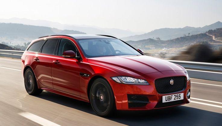 Fearsome Wallpaper Red Luxury Sedan Jaguar Xfr S Sportbrake