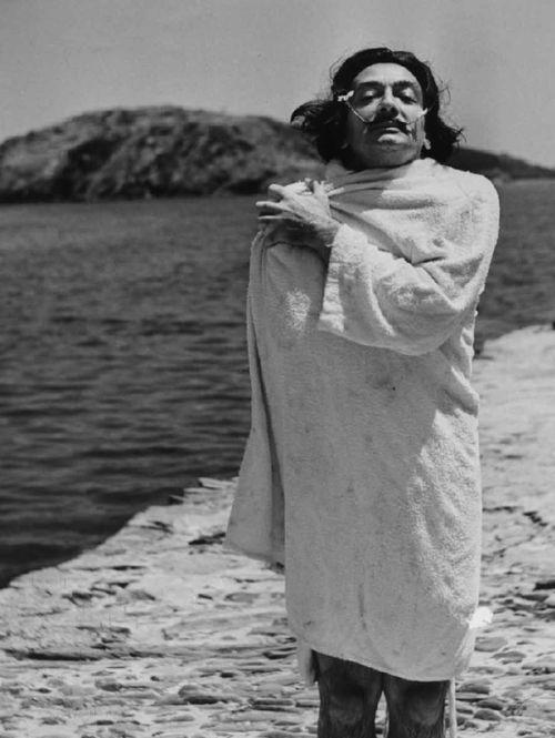 Portrait Dali-Jean Dieuzaide