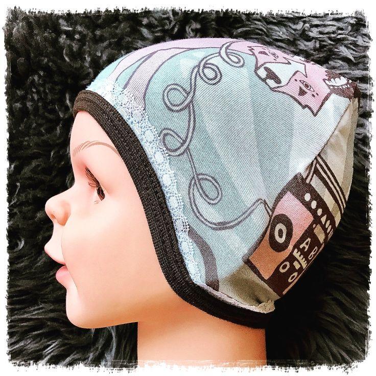 Todays FUS hat: Rocking cute! Buy the pattern here:    https://www.etsy.com/no-en/shop/FUSdesign?ref=s2-header-shopname