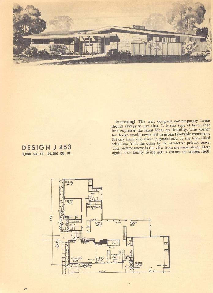 Mid Century Modern Home Plans 1097 best mid century modern houses and floor planes images on