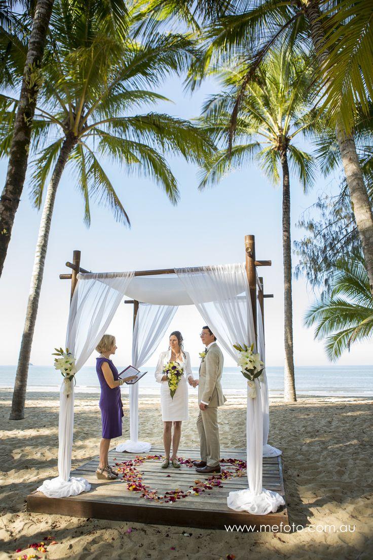 Kewarra Beach Resort wedding, just paradise!