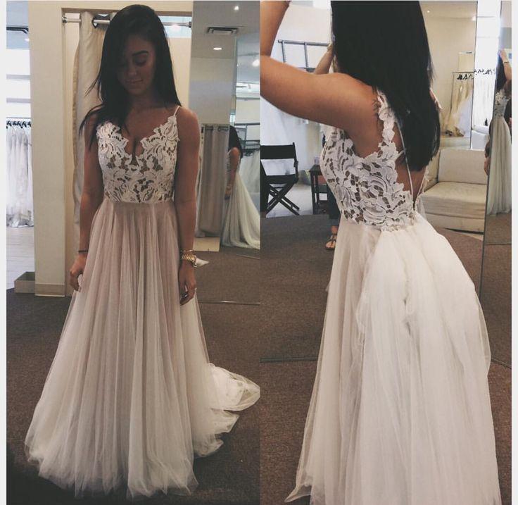 Katy Hearn's wedding dress