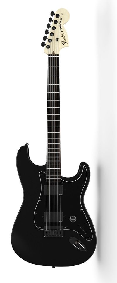 Fender Jim Root Stratocaster®. I've never seen anything quite like it. The most deceiving Strat you'll ever play
