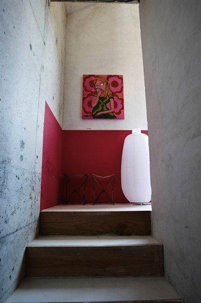 demi mur pour cage d'escalier