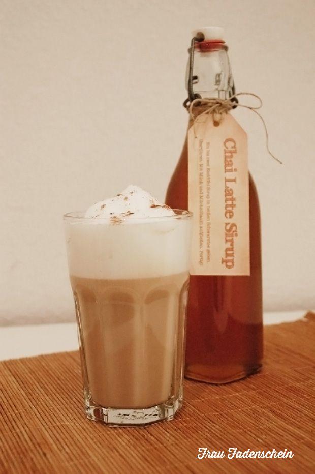 Leckeren Chai Latte Sirup selber machen + Freebie | Frau Fadenschein