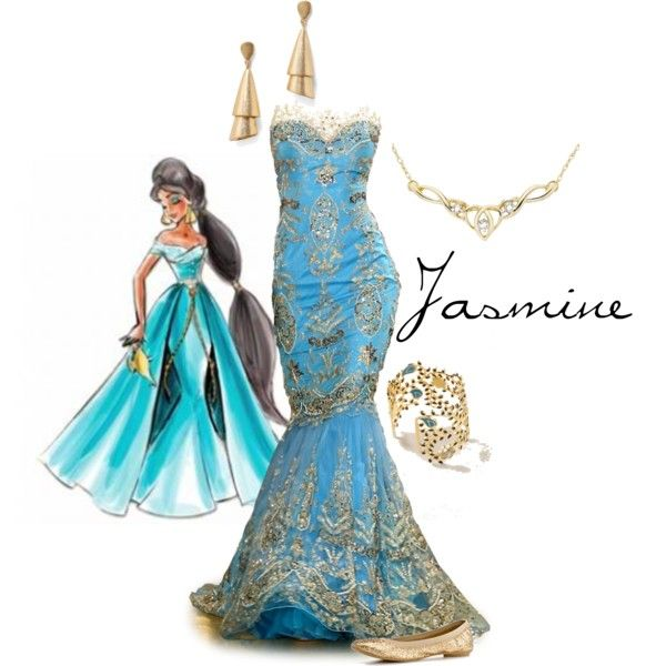 Jasmine Designer Doll, created by waitingforthelights on Polyvore