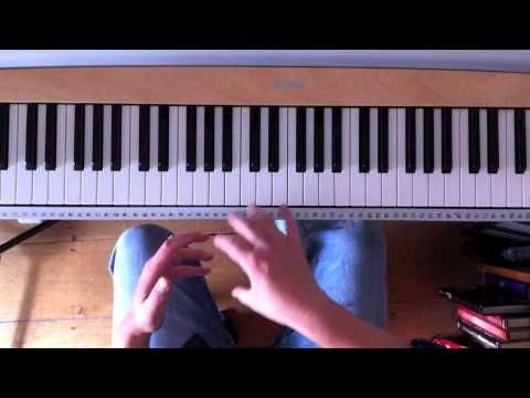 Piano broken chords for the left hand - YouTube