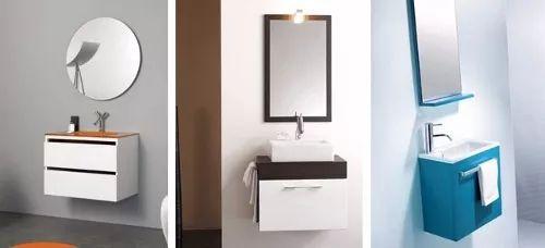 muebles de baño modernos con o sin lavamanos