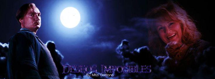 Portada para Deseos imposibles por MPotterBlack en Wattpad Remus Lupin Molly Weasley