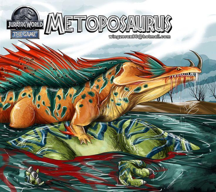 Jurassic World METOPOSAURUS by wingzerox86
