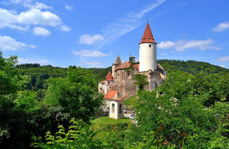 Křivoklát Castle, Czech Republic, #Czech Republic