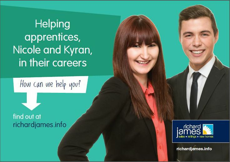 Our new campaign involves our apprentices. Check out our billboard and leaflets! #richardjames #apprentice