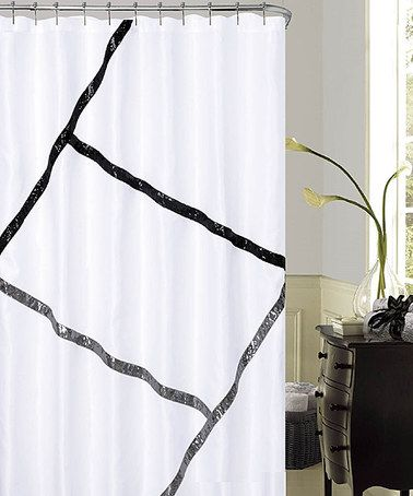 Another great find on #zulily! Florence Sequins Shower Curtain by Dainty Home #zulilyfinds